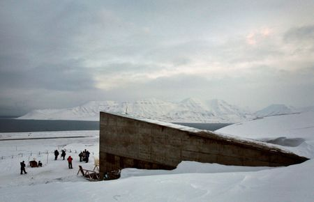 'Doomsday' seed vault entrance repaired after thaw of Arctic ice