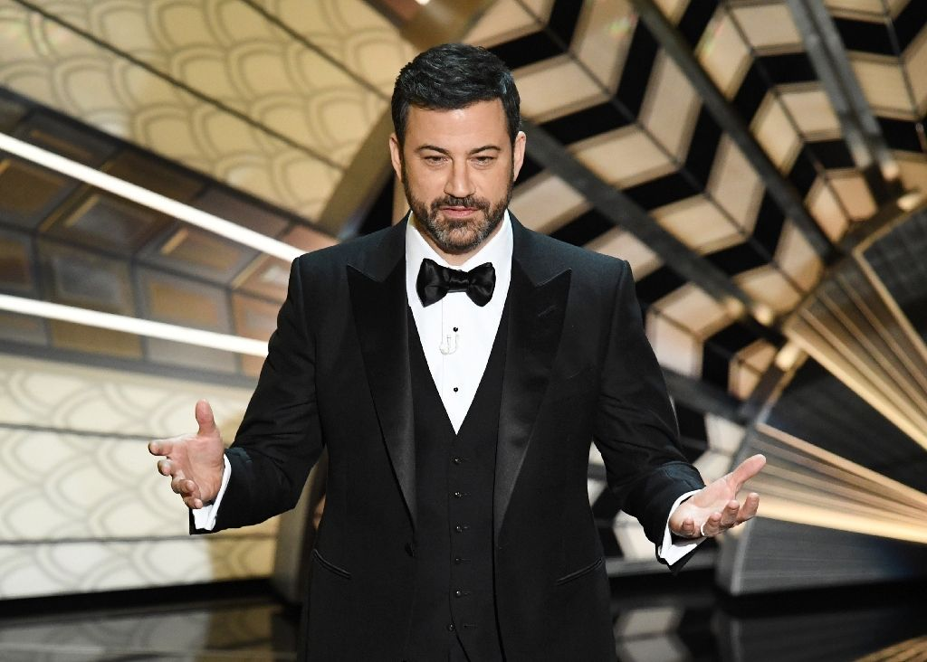 US comedian Kimmel makes tearful plea for children's health care