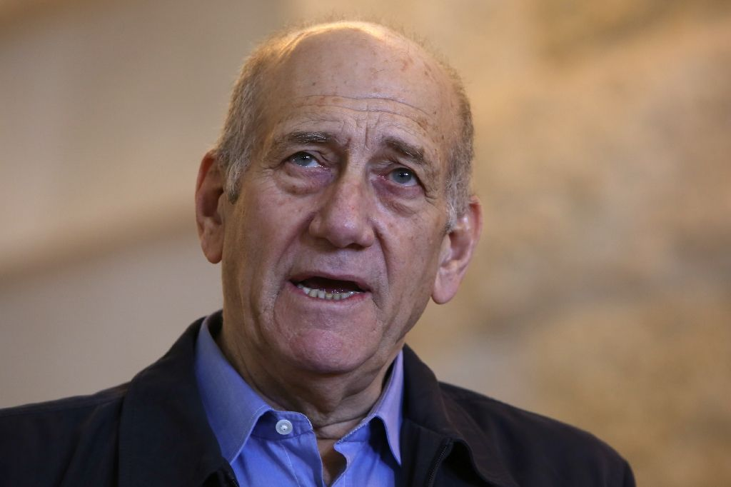 Israel's Olmert: from promise to prison