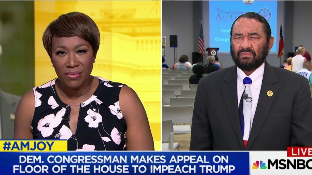 Rep. Al Green: Not even president is above the law