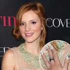 Bella Thorne's Cat Nail Art