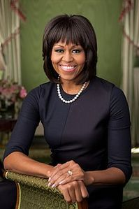 michelle obama wore a dress designed by reed krakoff in her second
