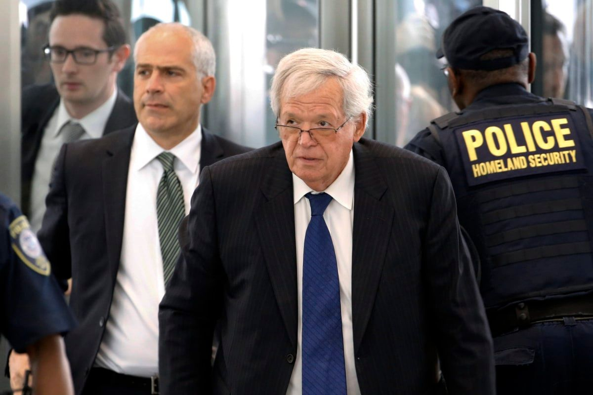 Ex-Speaker Dennis Hastert out of Federal Prison Hospital - NBCNews.com