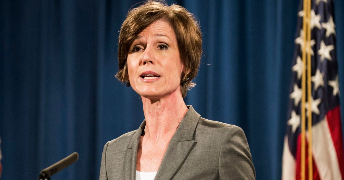 Former Acting AG Sally Yates to Testify Publicly in House Russia Probe