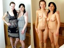 mom & daughter clothed and nude | Milf and Daughters