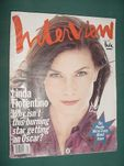 Revista Interview Mar95 Importada Ingles Linda Fiorentino  $ 25,00 en