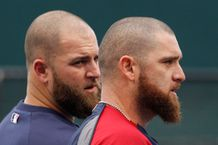 Even Jonny Gomes' kids can't tell him apart from Mike Napoli | MLB com