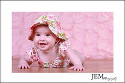 Sweet Sylvia � 3 months � JEM Photography