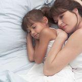 Mother Daughter Sleeping