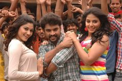 Oviya, Vimal, Anajli in Kalakalappu Movie Stills