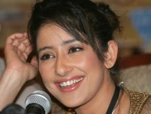 Manisha Koirala hot poses » Indian actress Manisha Koirala smiles at