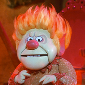 Heat Miser Announced His Return To Maine Like The True Showman That He