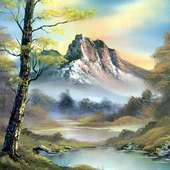 Bob_ross_csg033_mountain_splender « Welcome To Painting Gallery