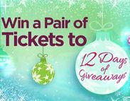 ellentv 12days tickets ellentv.com 12days Win a Pair of Tickets to