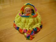 CROCHET BASSINET PURSE PATTERN | CROCHET FREE PATTERNS
