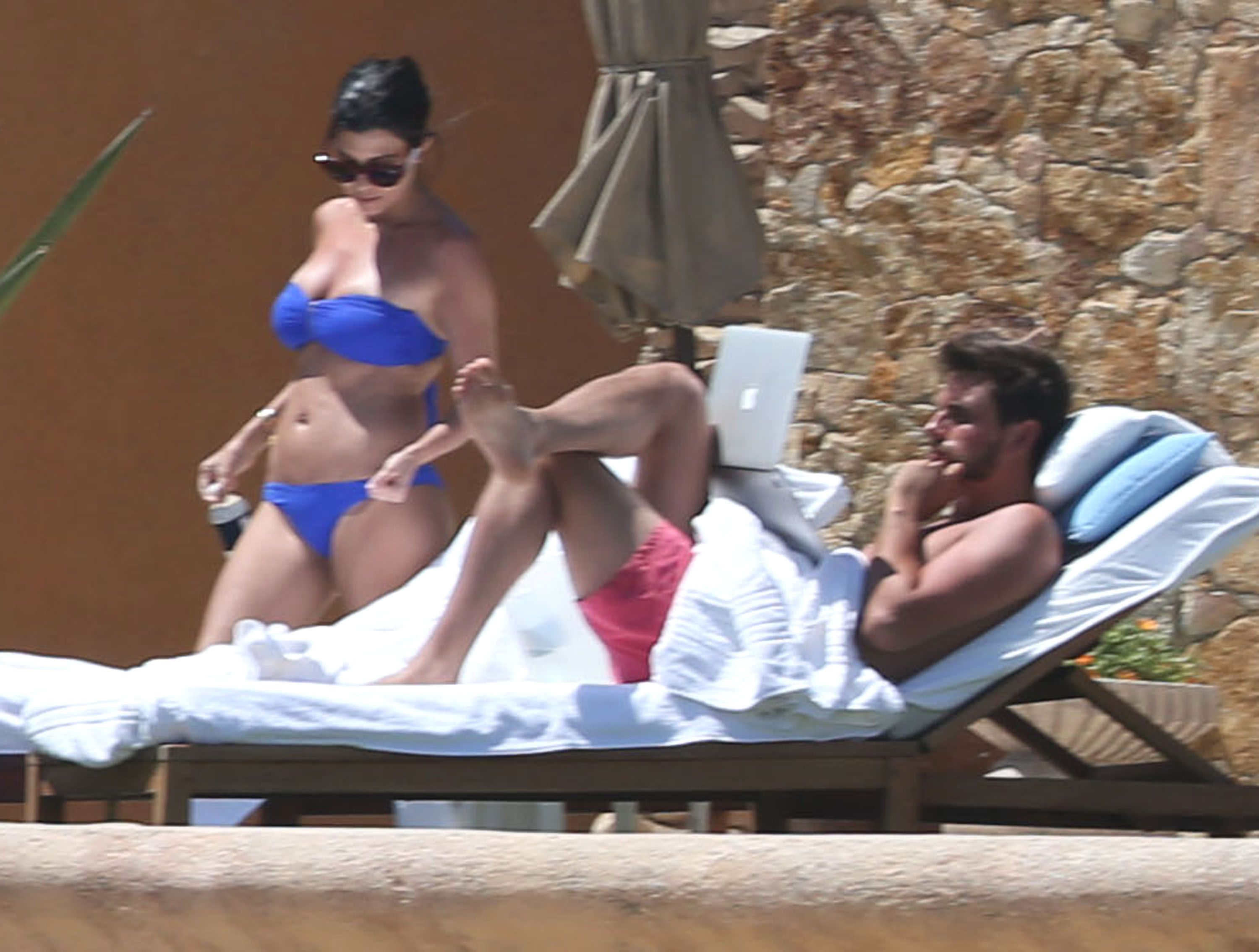 Kourtney Kardashian Celebrates 35th Birthday With Surprise Trip To Mexico Bikini Pictures