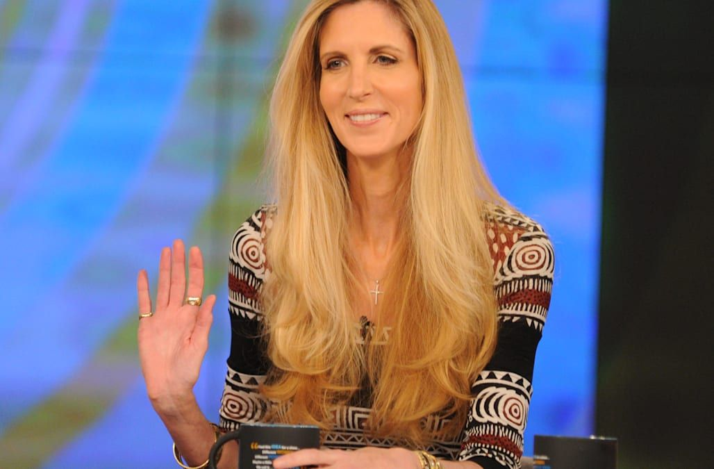 Ann Coulter had to switch seats on a Delta flight. Then came the tirade. - AOL