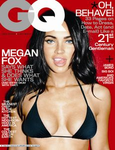 Megan Fox GQ October 2008 Cover HOT OR NOT? « oceanUP