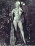British Actress PAMELA GREEN  Nude Photo Signed : Lot 1473