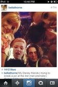 Maia Mitchell, and more at the Iron Man 3 premiere (Instagram) http