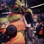 Photo: Miss Tessmacher At An Astros Game  WrestlingInc com