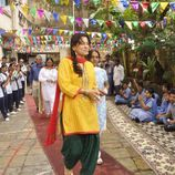 Actress Juhi Chawla attends Independence Day celebration, held in
