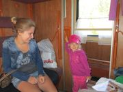 TransSiberian Railroad 2013  TransSiberian siberian mouse masha