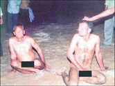 ODD NEWS AND STORIES: Father and son stripped naked in India