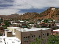 bisbee az view from hillside bisbee az  Bisbee Arizona � Photo
