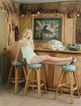 self service magazine elle fanning carven light blue shorts edit tags