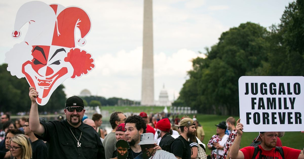 Juggalos Assemble on National Mall, Make Good Points About America - New York Magazine