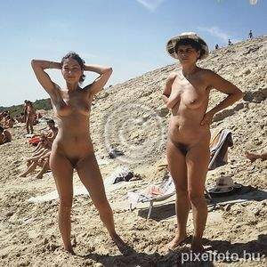 mother and daughter naturist