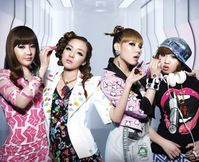 "The girls of 2NE1 have teamed up with the makeup company ""Etude"