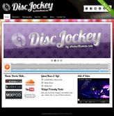 Disc Jockey WordPress Theme Features: