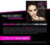 Danna Paola filmar� el video de su nuevo sencillo �NO ES CIERTO