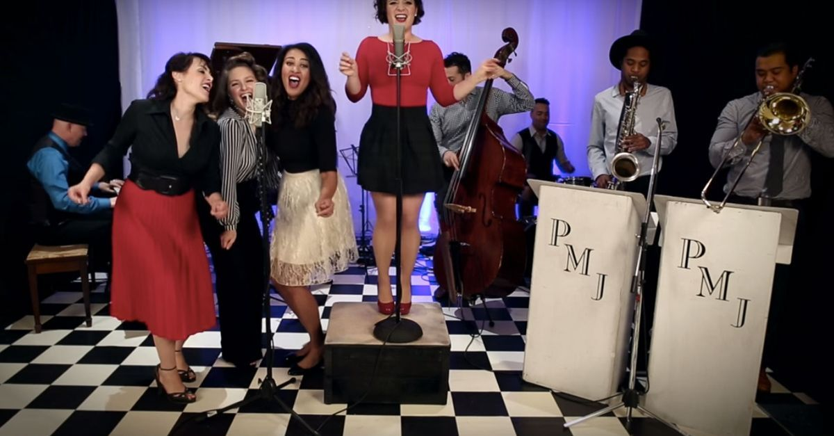 'My Heart Will Go On' gets transformed into a doo-wop dance anthem