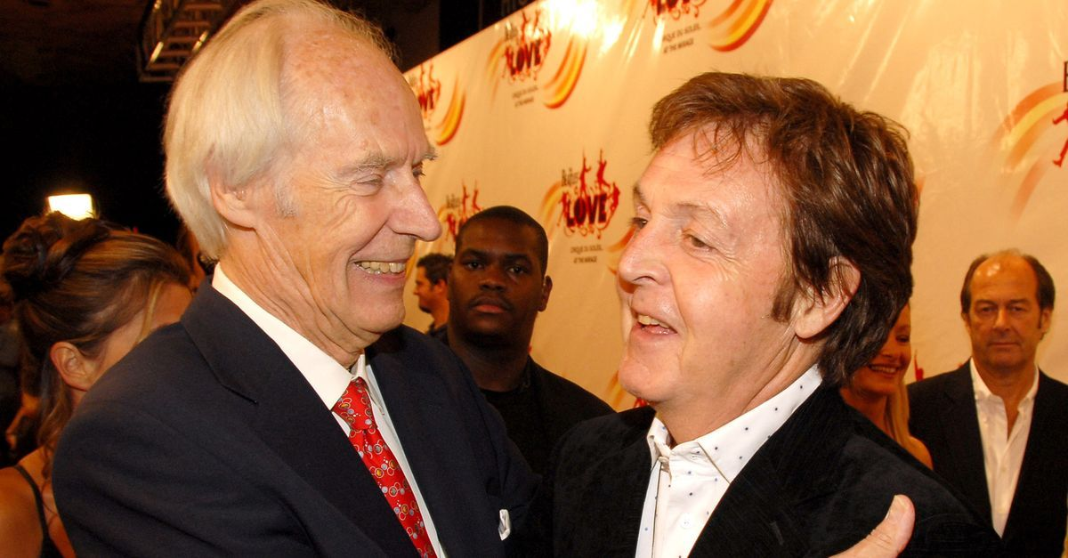Paul McCartney settles it: George Martin was the fifth Beatle
