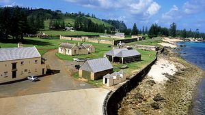 The old prison on Norfolk Island  Many islanders have described the