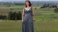 Marny Cringle, 42, is an amputee about to undergo a worldfirst