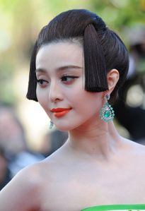 Fan Bingbing highlighted her porcelain doll skin with a lick of coral
