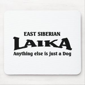 Siberian Laika Dog Mouse Pad from Zazzle com