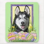 Easter Egg Cookies  Siberian Husky Mouse Mat  Zazzle com au