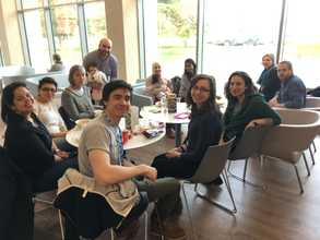 2018 Lab lunch with Firas twins