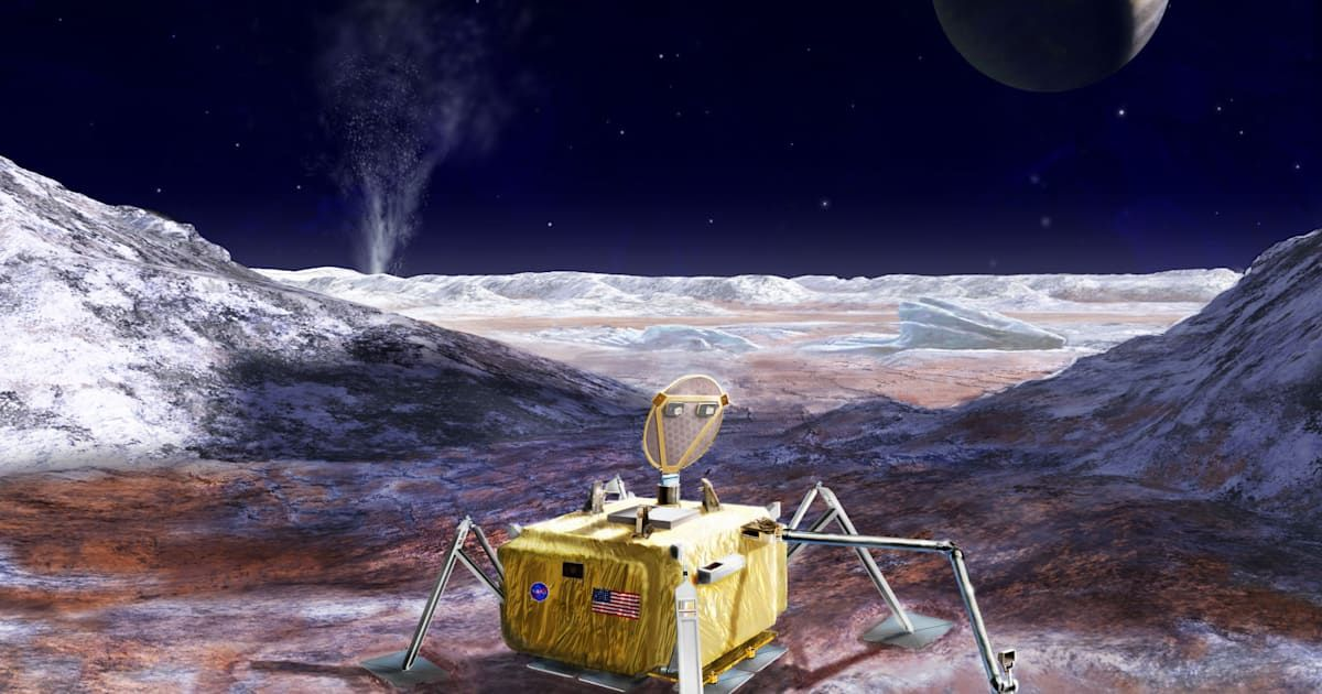 NASA wants to send a life-detecting lander to Europa