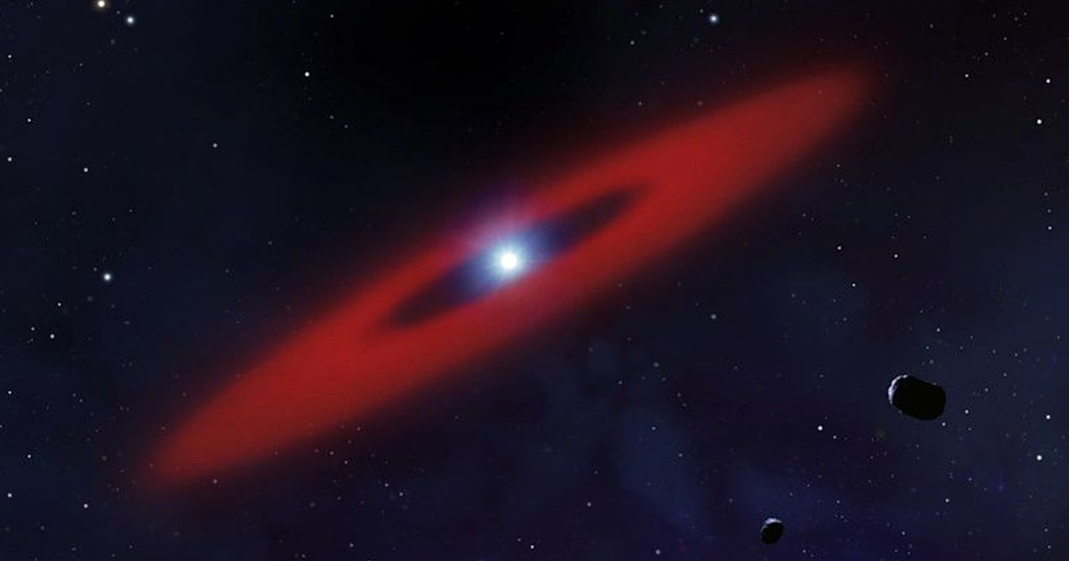 Dwarf star's atmosphere holds the ingredients for life