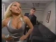 Stratus had a storyline in which she had an affair with Vince McMahon