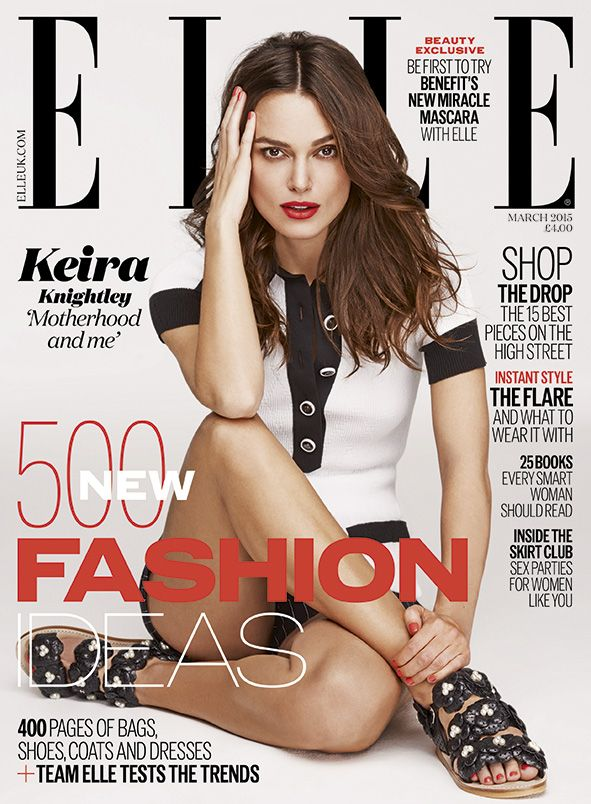 Keira Knightley U2013 Elle Magazine March 2015 Issue