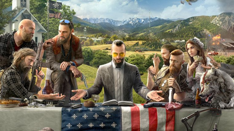 Ubisoft reveals Far Cry 5, pitting players against a doomsday cult; coming February 2018