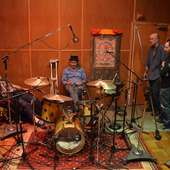 Sean And Jerry Hannan, With Martin Shore At Tarpan Studios