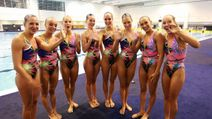 Synchronized Swimming Oops « Photo, Picture, Image and Wallpaper